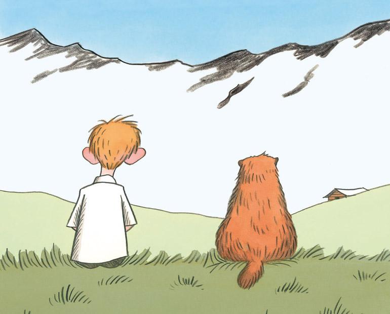 Le garçon qui voulait être une marmotte