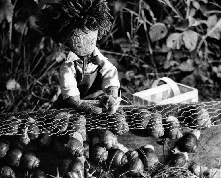 Amadou, marchand d'escargots