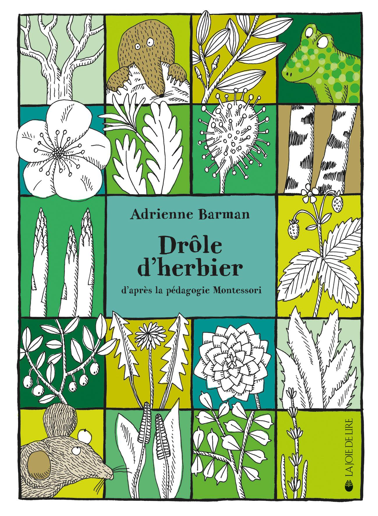 drôle d'herbier | la joie de lire