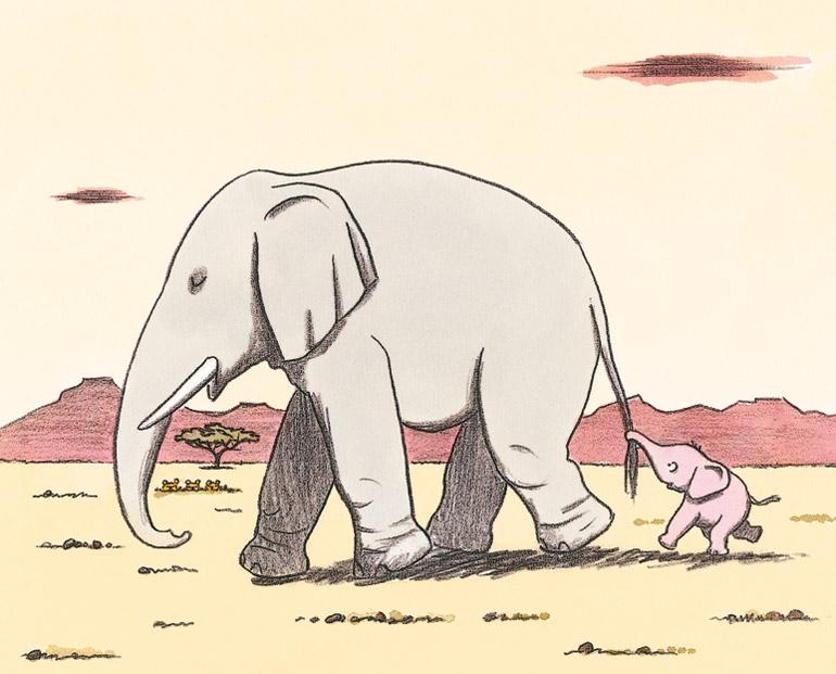 L'éléphant qui voulait rester petit
