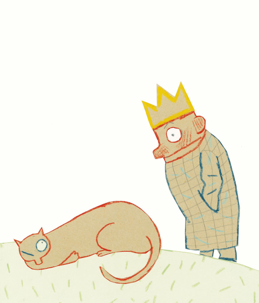 Le Roi et la mer… à colorier